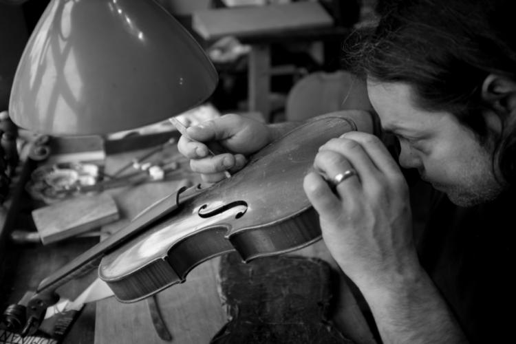 Dante Zufolo Stringed Instrument Violin Surrey Repair Maker